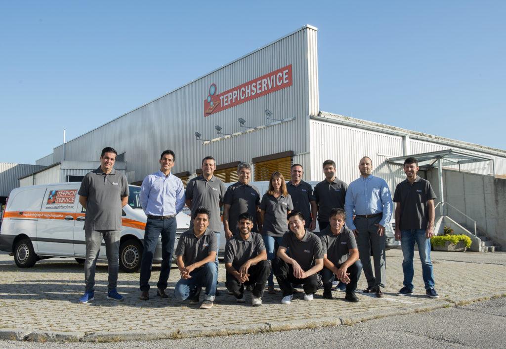 Lindau Teppichreinigung und Teppichreparatur Team